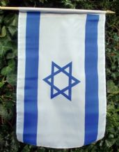 HAND WAVING FLAG - Israel